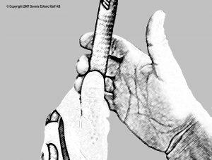 Greppet, höger hand