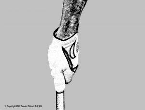 Greppet, vänster hand